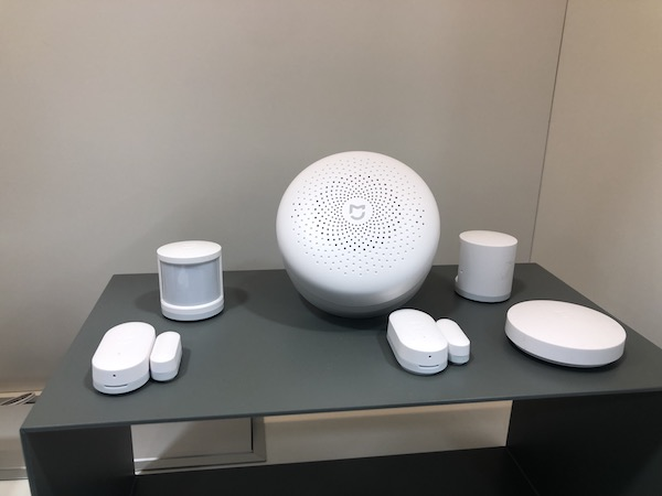 xiaomi mi smart center - set securité maison connectée