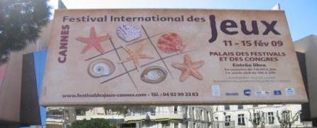 Le 23e Festival International des Jeux de Cannes