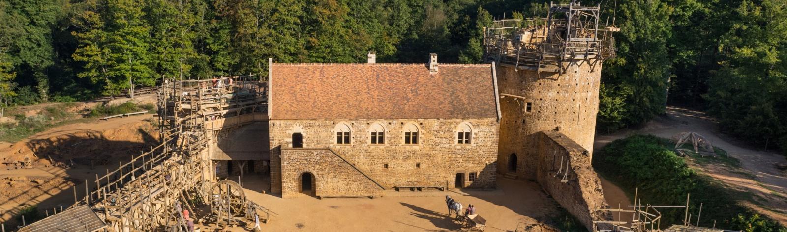 chateau de guedelon visite