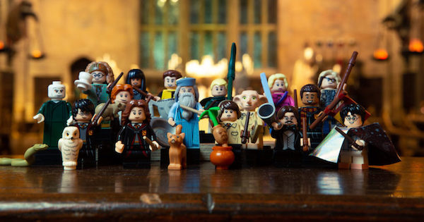 LEGO annonce les mini-figurines Harry Potter