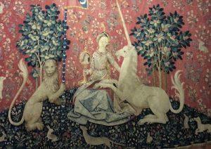 """""""Magiques Licornes"""" au musée de Cluny:"""