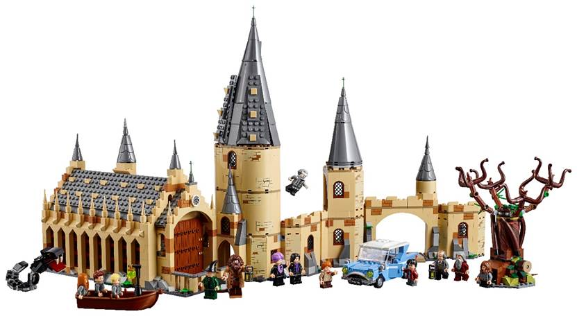 LEGO HARRY POTTER, La Grande Salle du château de Poudlard