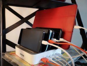 Base de chargement portables et tablettes