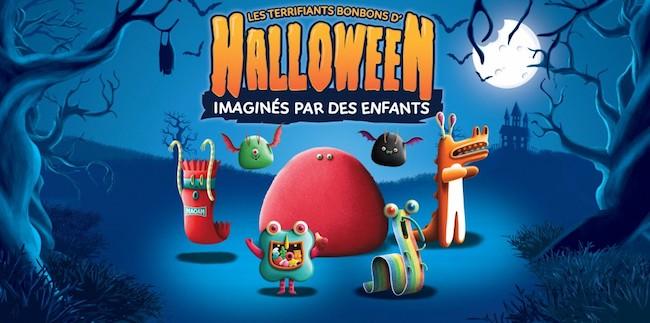 Haribo fait peur en pub et en réalité augmentée pour Halloween