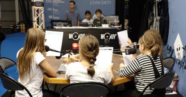 Kidexpo atelier radio Toussaint vacances