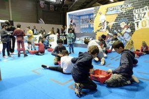 Kidexpo championnat de toupies Beyblade pendant les vacances de la Toussaint