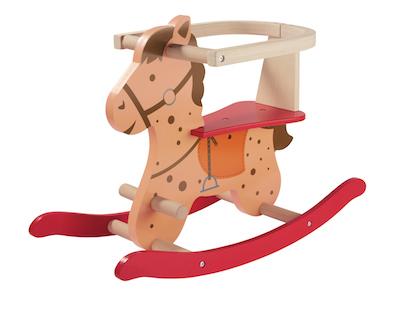 Cheval à bascule en bois Lidl