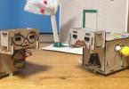 Achille, le robot en carton de Nathan