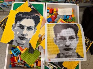 Lego mosaic maker Paris