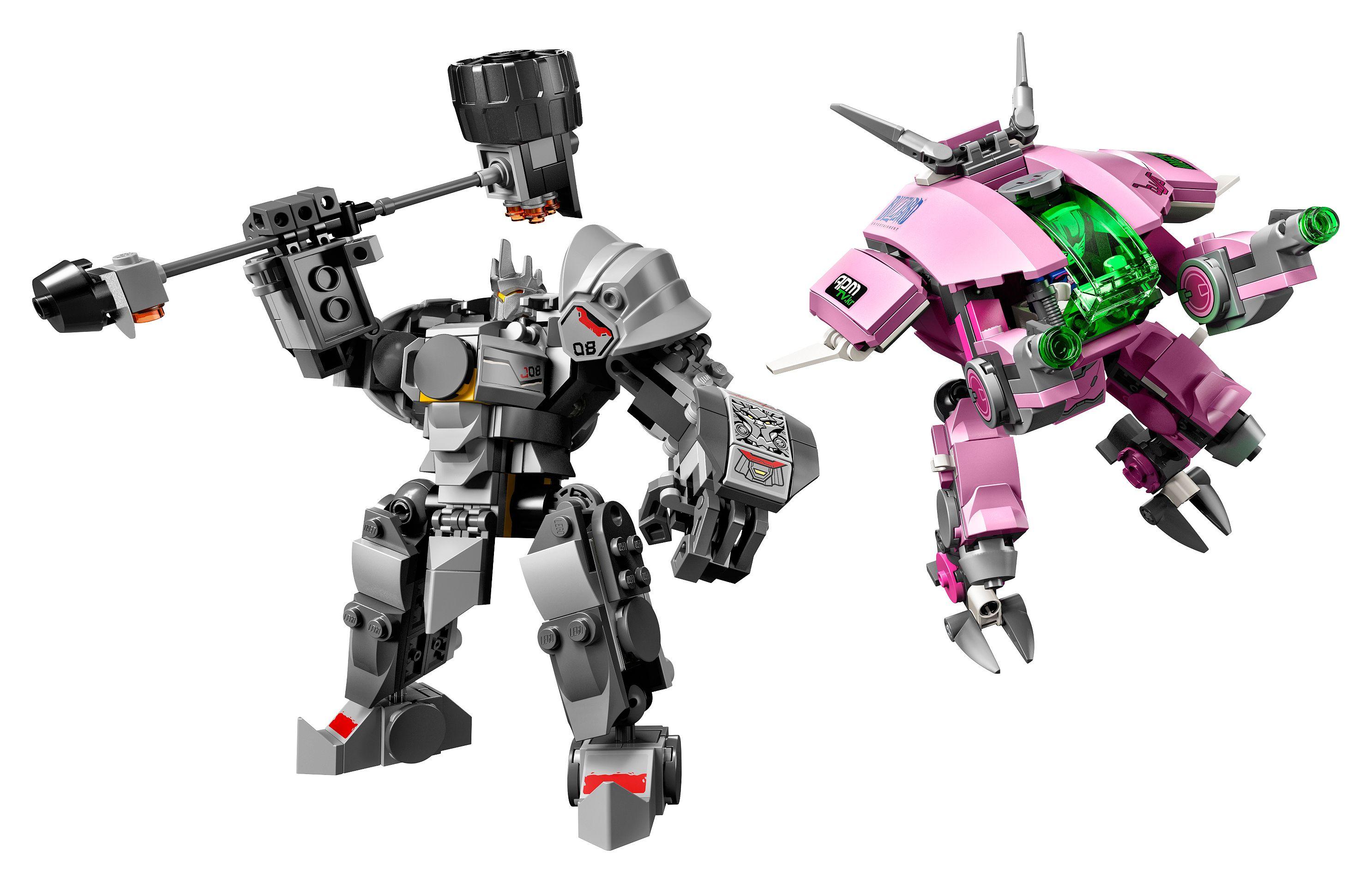 Le monde d'Overwatch en Lego