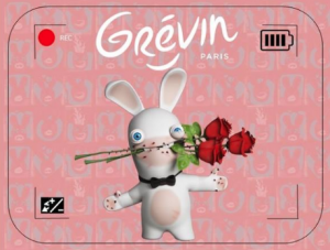 Les Lapins crétins au musée Grévin
