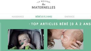 Site web La maison des maternelles