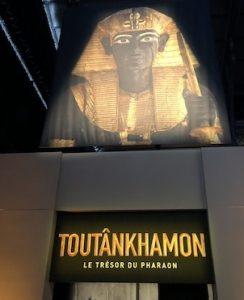 Expo Toutankhamon avec les enfants - Grande Halle de la Villette, Paris