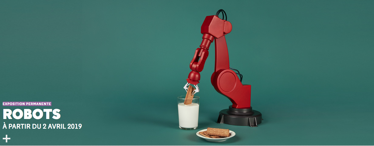 Les robots font leur show à la Cité des sciences et de l'industrie de la Villette à Paris