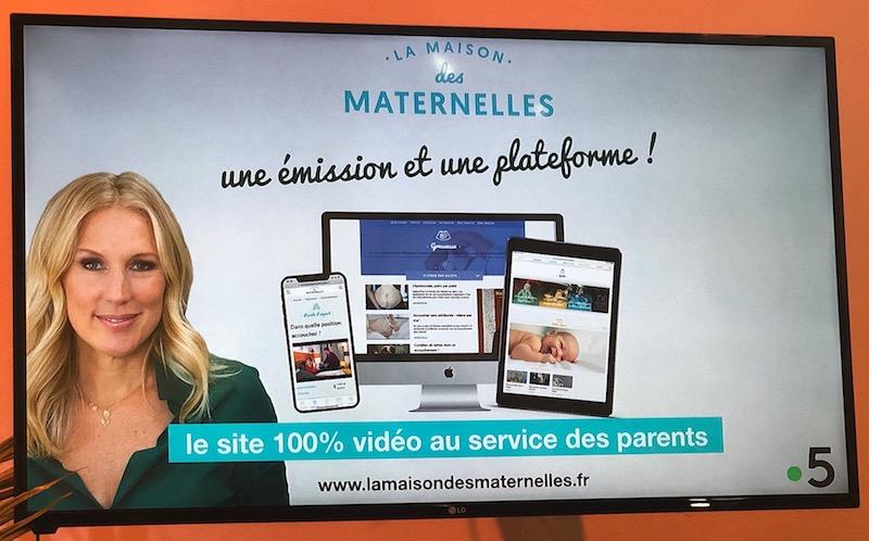 L'émission La Maison des Maternelles ouvre son site web