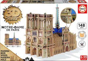 Notre Dame de Paris puzzle 3D Educa