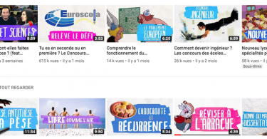 reviser sur youtube