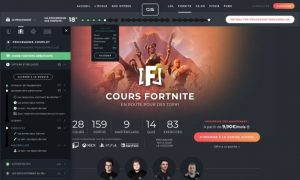 Gaming School cours Fortnite