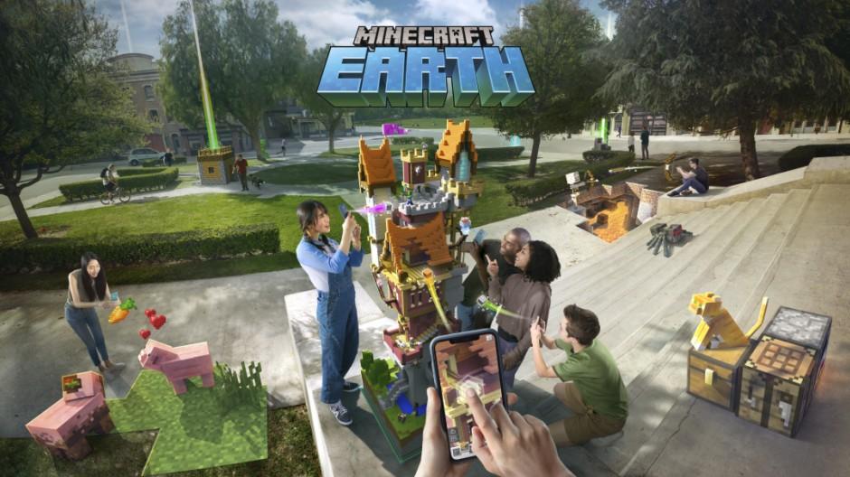 Minecraft Earth : Un nouveau jeu sur smartphone pour les 10 ans de Minecraft