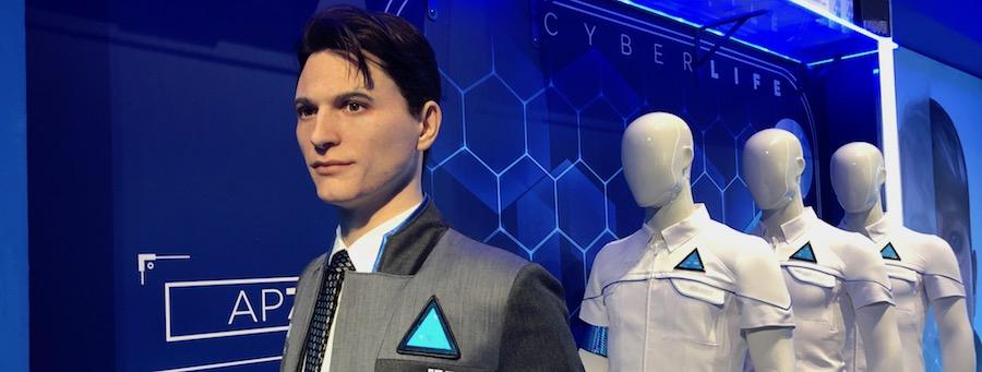 Les androïdes humanoïdes entrent au musée Grévin avec le jeu Detroit