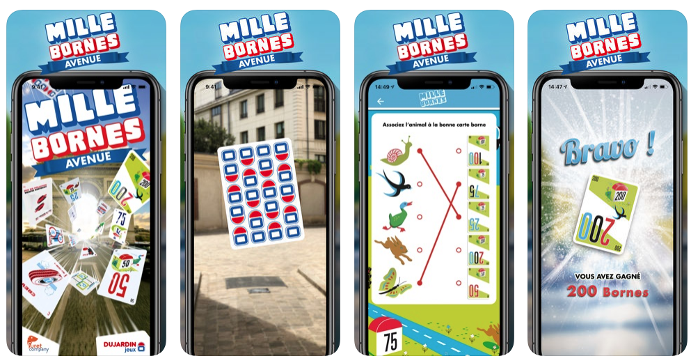 Application AR Mille Bornes Avenue