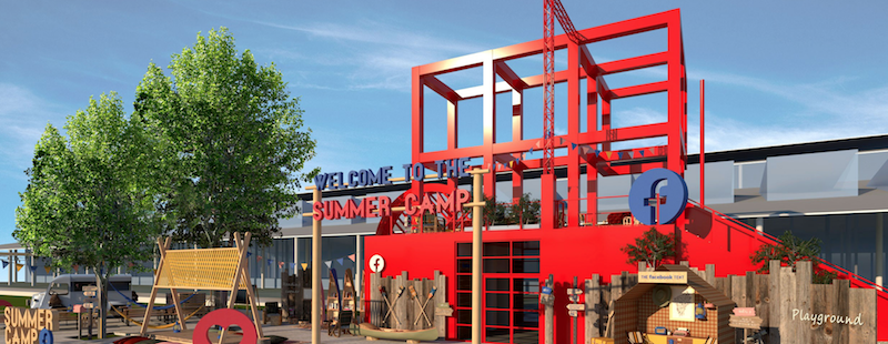 Facebook invite les jeunes à son Summer Camp gratuit à la Villette