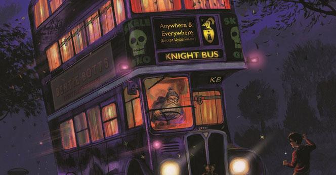 Magicobus Harry Potter à Paris