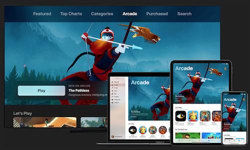 Les plateformes sur Apple Arcade