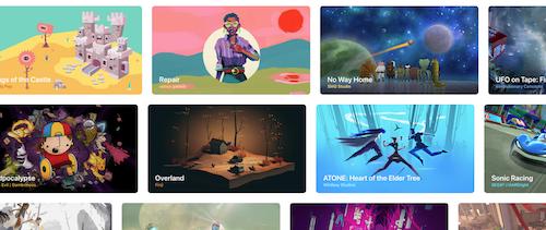 Les jeux vidéo sur Apple Arcade