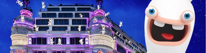 JEU DE PISTE : Les Lapins Crétins envahissent le Printemps pour Noël ! ©Manuel Bougot