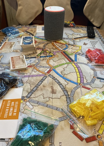 Skills Alexa Les aventuriers du rail