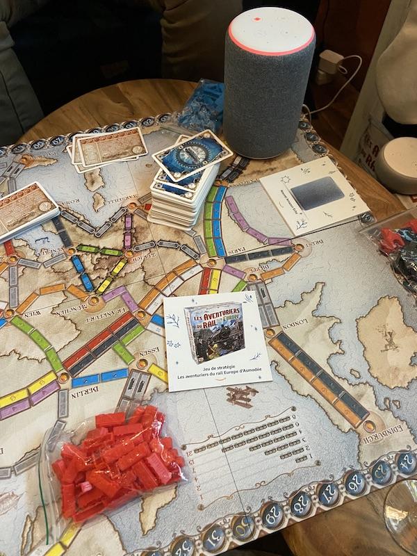 Les aventuriers du rail avec Alexa