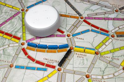 Skill Alexa pour les Aventurier du rail