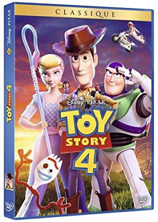 Toy Story 4 : le film en DVD Blu-RAy et 4K