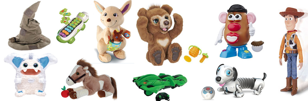 10 jouets animés à offrir