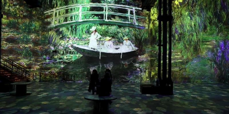 Atelier des Lumières - Exposition Monet, Renoir, Chagall