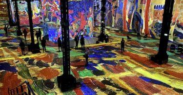 Atelier des lumières expo