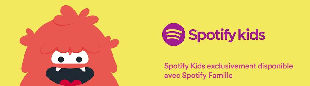 Spotify lance son service Spotify Kids en France