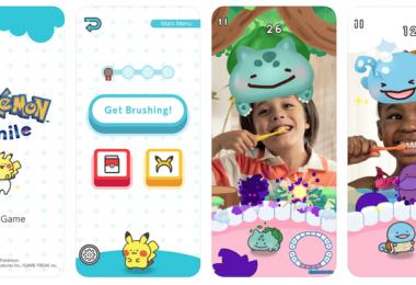 Application Pokémon Smile