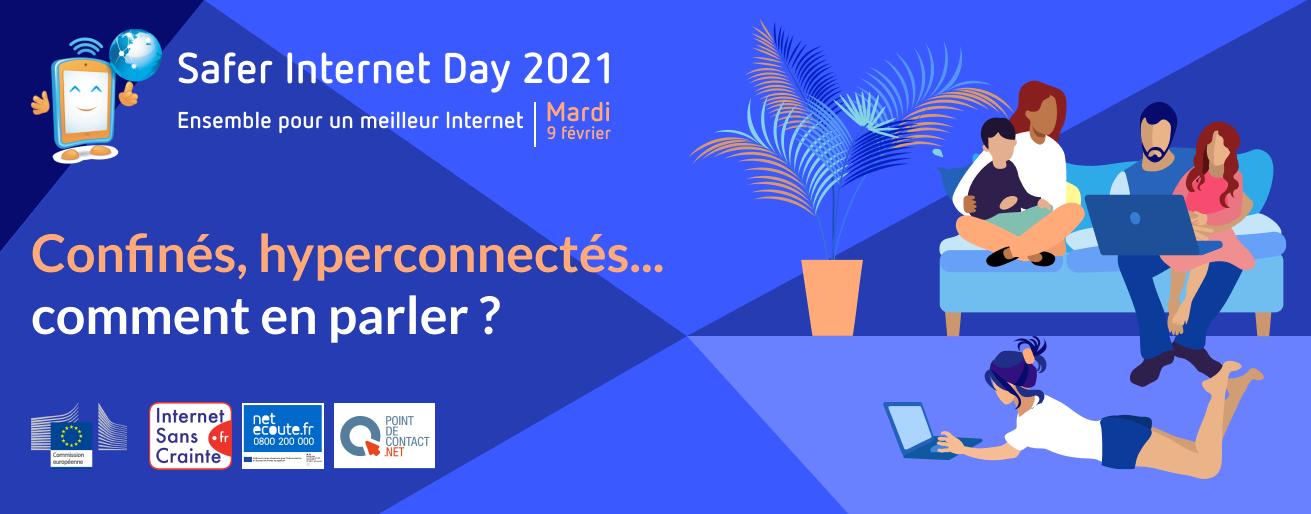 Confinés, connectés, comment en parler ? Les réponses avec le Safer Internet Day 2021
