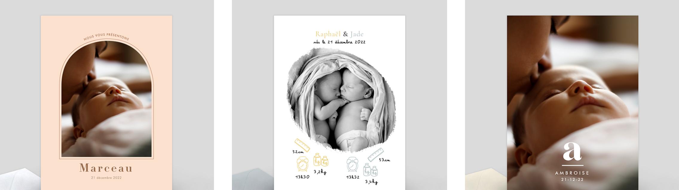 8 photos de naissance originales à partager